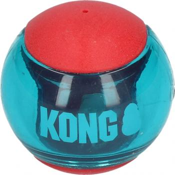 Kong Squeezz Action Red Medium 6cm 3er Pack