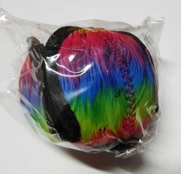 Puppingtons Pods mit Schlaufe S ca. 8cm Muster fluffy rainbow